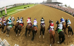 Kentucky Derby Starting Gate