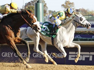Hansen Wins the 2011 Breeders' Cup Juvenile